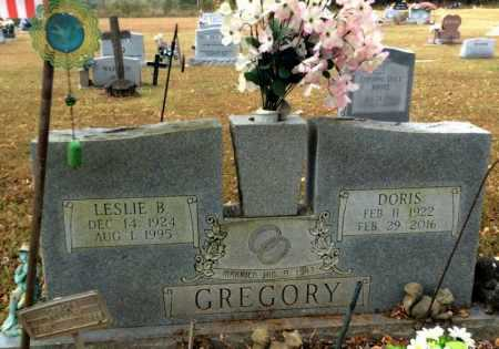 GREGORY, LESLIE B. - Marion County, Arkansas | LESLIE B. GREGORY - Arkansas Gravestone Photos