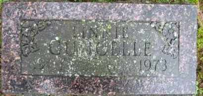 GUNCELLE, LINNIE - Marion County, Arkansas | LINNIE GUNCELLE - Arkansas Gravestone Photos