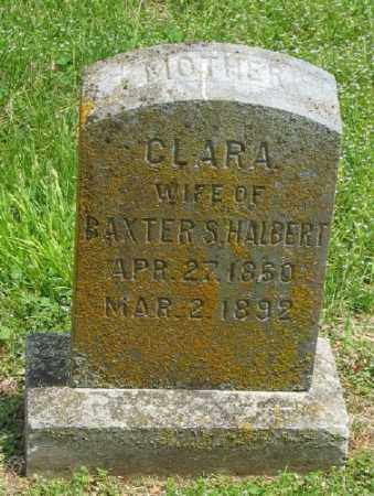 HALBERT, CLARA - Marion County, Arkansas | CLARA HALBERT - Arkansas Gravestone Photos