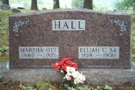 OTT HALL, MARTHA ELLEN - Marion County, Arkansas | MARTHA ELLEN OTT HALL - Arkansas Gravestone Photos