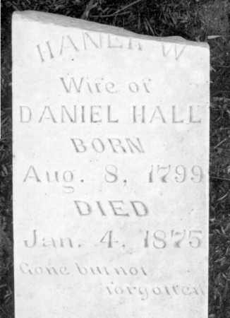 HALL, HANNAH - Marion County, Arkansas | HANNAH HALL - Arkansas Gravestone Photos