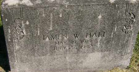 HALL, JAMES W. - Marion County, Arkansas | JAMES W. HALL - Arkansas Gravestone Photos