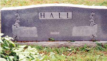 HALL, LIFORD - Marion County, Arkansas | LIFORD HALL - Arkansas Gravestone Photos