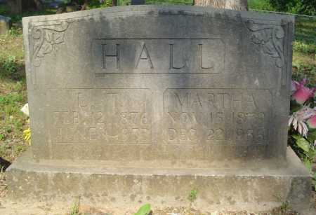 TILLEY HALL, MARTHA - Marion County, Arkansas | MARTHA TILLEY HALL - Arkansas Gravestone Photos