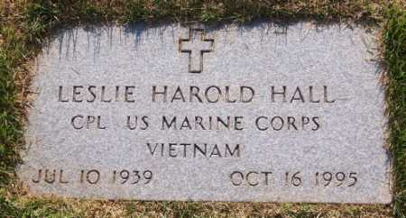 HALL (VETERAN VIET), LESLIE HAROLD - Marion County, Arkansas | LESLIE HAROLD HALL (VETERAN VIET) - Arkansas Gravestone Photos