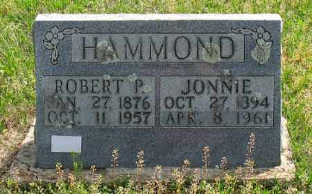 HAMMOND, JONNIE - Marion County, Arkansas | JONNIE HAMMOND - Arkansas Gravestone Photos