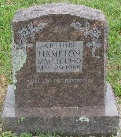 HAMPTON, ARTHUR - Marion County, Arkansas | ARTHUR HAMPTON - Arkansas Gravestone Photos
