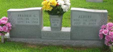 HAMPTON, ALBERT - Marion County, Arkansas | ALBERT HAMPTON - Arkansas Gravestone Photos