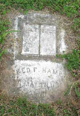 HAMPTON, FRED F. - Marion County, Arkansas | FRED F. HAMPTON - Arkansas Gravestone Photos