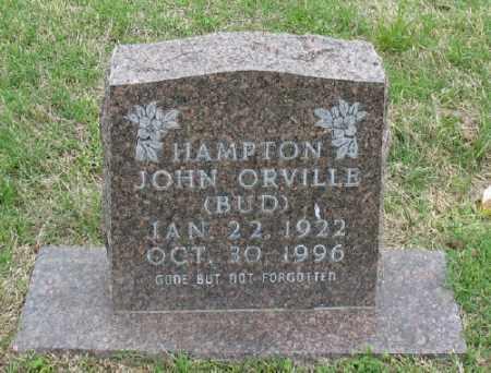 "HAMPTON, JOHN ORVILLE ""BUB"" - Marion County, Arkansas | JOHN ORVILLE ""BUB"" HAMPTON - Arkansas Gravestone Photos"