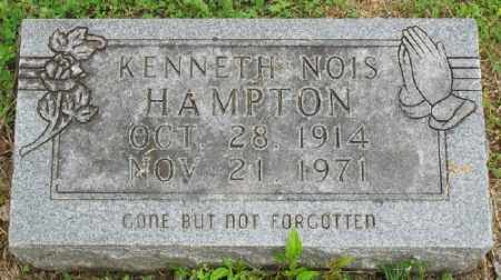 HAMPTON, KENNETH NOIS - Marion County, Arkansas | KENNETH NOIS HAMPTON - Arkansas Gravestone Photos