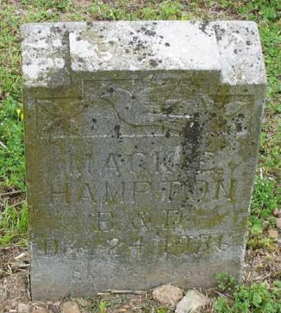 HAMPTON, MACKIE - Marion County, Arkansas | MACKIE HAMPTON - Arkansas Gravestone Photos