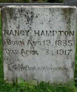 HAMPTON, NANCY - Marion County, Arkansas | NANCY HAMPTON - Arkansas Gravestone Photos