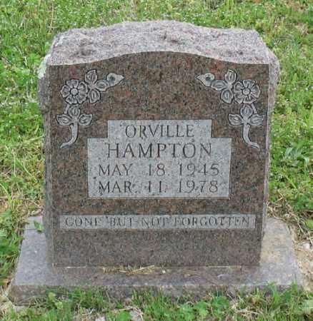 HAMPTON, ORVILLE - Marion County, Arkansas | ORVILLE HAMPTON - Arkansas Gravestone Photos