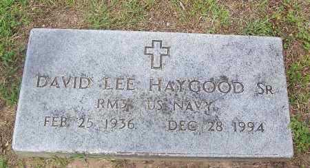 HAYGOOD, SR (VETERAN), DAVID LEE - Marion County, Arkansas | DAVID LEE HAYGOOD, SR (VETERAN) - Arkansas Gravestone Photos