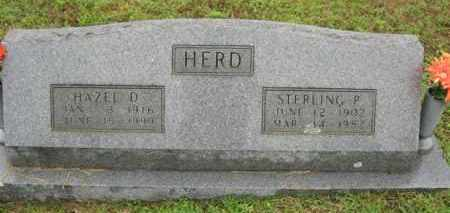 HERD, STERLING P. - Marion County, Arkansas | STERLING P. HERD - Arkansas Gravestone Photos