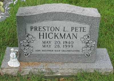 HICKMAN, PRESTON L. - Marion County, Arkansas | PRESTON L. HICKMAN - Arkansas Gravestone Photos