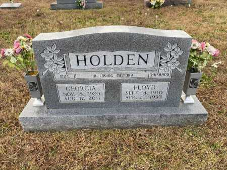 HOLDEN, FLOYD LEE - Marion County, Arkansas | FLOYD LEE HOLDEN - Arkansas Gravestone Photos