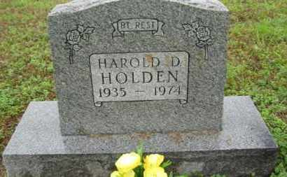 HOLDEN, HAROLD D - Marion County, Arkansas | HAROLD D HOLDEN - Arkansas Gravestone Photos