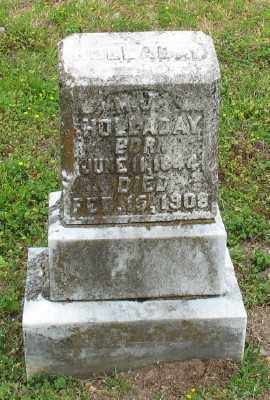 HOLLADAY, M. J. - Marion County, Arkansas | M. J. HOLLADAY - Arkansas Gravestone Photos
