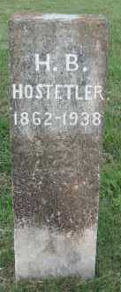 HOSTETLER, H. B. - Marion County, Arkansas | H. B. HOSTETLER - Arkansas Gravestone Photos