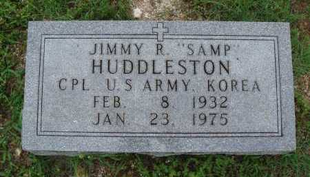 "HUDDLESTON  (VETERAN KOR), JIMMY R. ""SAMP"" - Marion County, Arkansas 