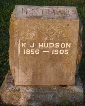 HUDSON, K. J. - Marion County, Arkansas | K. J. HUDSON - Arkansas Gravestone Photos