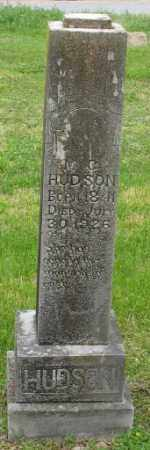 HUDSON, MALISSA CATHERINE - Marion County, Arkansas | MALISSA CATHERINE HUDSON - Arkansas Gravestone Photos