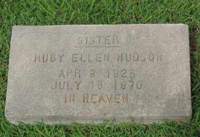 HUDSON, RUBY ELLEN - Marion County, Arkansas | RUBY ELLEN HUDSON - Arkansas Gravestone Photos