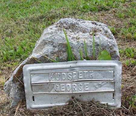 HUDSPETH, GEORGE - Marion County, Arkansas | GEORGE HUDSPETH - Arkansas Gravestone Photos