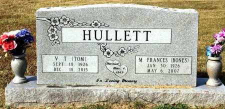 BONES HULLETT, M. FRANCES - Marion County, Arkansas | M. FRANCES BONES HULLETT - Arkansas Gravestone Photos