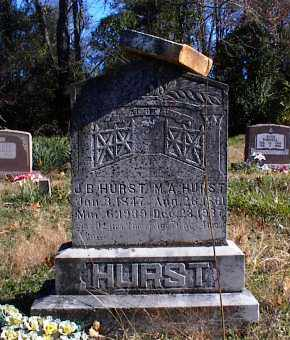 HURST, M. A. (MARY ANN) - Marion County, Arkansas | M. A. (MARY ANN) HURST - Arkansas Gravestone Photos