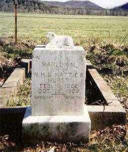 HURST, MARLON M. - Marion County, Arkansas | MARLON M. HURST - Arkansas Gravestone Photos