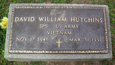 HUTCHINS (VETERAN VIET), DAVID WILLIAM - Marion County, Arkansas | DAVID WILLIAM HUTCHINS (VETERAN VIET) - Arkansas Gravestone Photos
