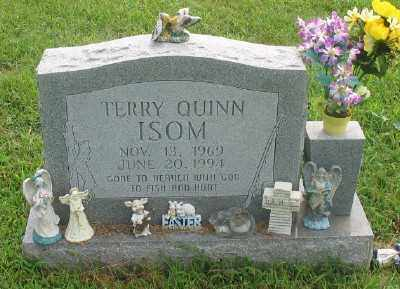 ISOM, TERRY QUINN - Marion County, Arkansas | TERRY QUINN ISOM - Arkansas Gravestone Photos