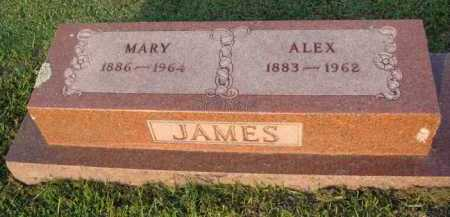JAMES, ALEX - Marion County, Arkansas | ALEX JAMES - Arkansas Gravestone Photos