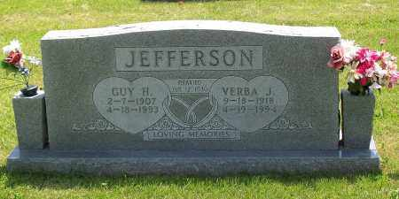 DUGGINS JEFFERSON, VERBA J. - Marion County, Arkansas | VERBA J. DUGGINS JEFFERSON - Arkansas Gravestone Photos