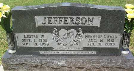 JEFFERSON, BERNECE - Marion County, Arkansas | BERNECE JEFFERSON - Arkansas Gravestone Photos