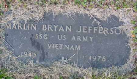 JEFFERSON (VETERAN VIET), MARLIN BRYAN - Marion County, Arkansas | MARLIN BRYAN JEFFERSON (VETERAN VIET) - Arkansas Gravestone Photos
