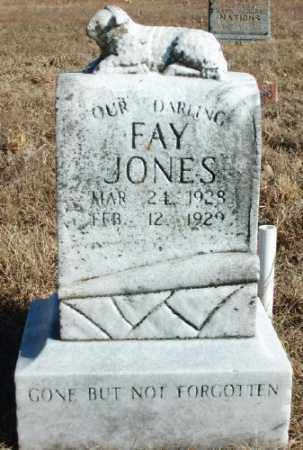 JONES, FAY - Marion County, Arkansas | FAY JONES - Arkansas Gravestone Photos