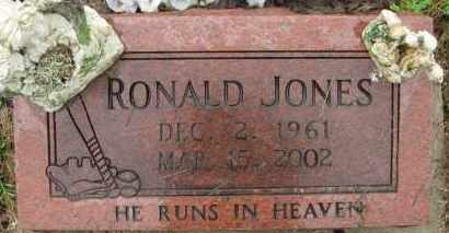 JONES, RONALD - Marion County, Arkansas   RONALD JONES - Arkansas Gravestone Photos