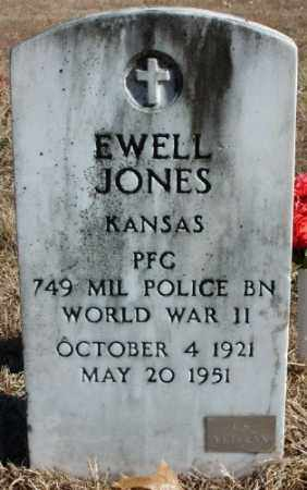 JONES (VETERAN WWII), EWELL - Marion County, Arkansas | EWELL JONES (VETERAN WWII) - Arkansas Gravestone Photos