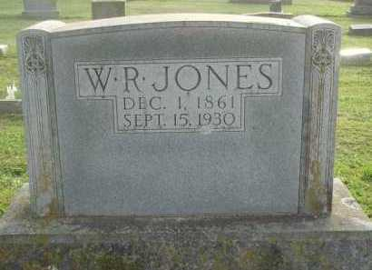 JONES, W. R. - Marion County, Arkansas | W. R. JONES - Arkansas Gravestone Photos