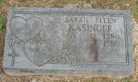 KASINGER, SARAH ELLEN - Marion County, Arkansas | SARAH ELLEN KASINGER - Arkansas Gravestone Photos