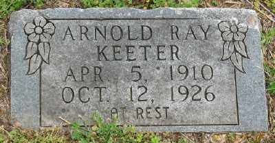 KEETER, ARNOLD RAY - Marion County, Arkansas | ARNOLD RAY KEETER - Arkansas Gravestone Photos