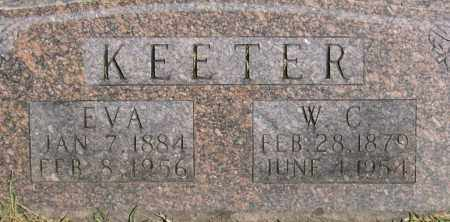 DEPRIEST KEETER, EVA - Marion County, Arkansas | EVA DEPRIEST KEETER - Arkansas Gravestone Photos