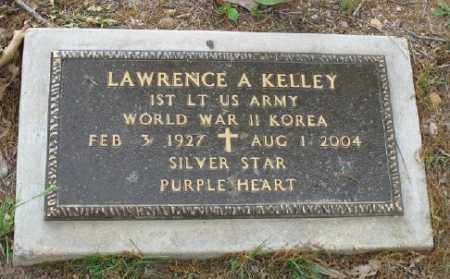 KELLEY (VETERAN 2 WARS), LAWRENCE A - Marion County, Arkansas | LAWRENCE A KELLEY (VETERAN 2 WARS) - Arkansas Gravestone Photos