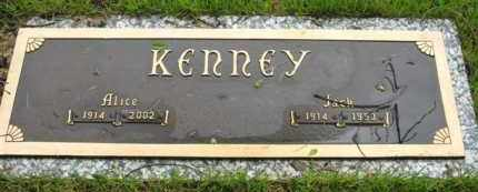 KENNEY, JACK - Marion County, Arkansas | JACK KENNEY - Arkansas Gravestone Photos