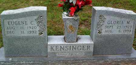 KENSINGER, GLORIA M. - Marion County, Arkansas | GLORIA M. KENSINGER - Arkansas Gravestone Photos