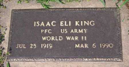 KING (VETERAN WWII), ISAAC ELI - Marion County, Arkansas | ISAAC ELI KING (VETERAN WWII) - Arkansas Gravestone Photos